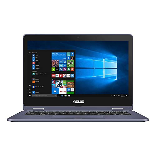 ASUS VivoBook Flip Laptop, 11.6 Touch Screen, Intel Pentium, 4GB Memory, 128GB Solid State Drive, Windows 10 Home in S Mode, TP2