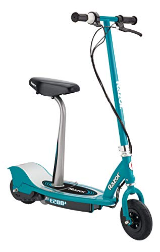 Razor E200 Electric Scooter - 8' Air-Filled Tires, 200-Watt Motor, Up to 12 mph and 40 min of Ride...