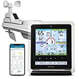 AcuRite Iris (5-in-1) Wireless Indoor/Outdoor Weather Station with Remote Monitoring Alerts for Weather Conditions (01536M)