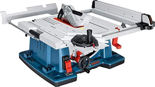 Bosch Professional Scie sur Table GTS 10 XC (2100 W, Diamètre de Lame : 254 mm, Diamètre d'alésage de lame : 30 mm, boite carton)