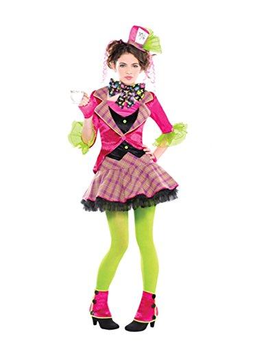 Christy's - Disfraz el Sombrerero Loco para niñas de 12-14 años (997663)