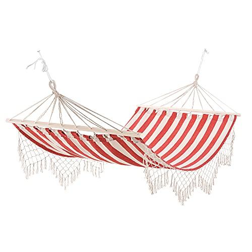 Outsunny Hamac de Voyage Portable Style Hippie Chic Toile de hamac dim. 2L...