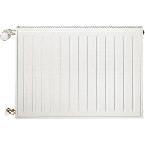 Radiateur eau chaude REGGANE 3000 habillé type 11H horizontal blanc largeur 450mm hauteur 750mm 519,3W Réf 11H75 0450 /