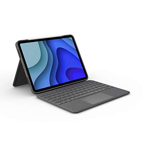 ロジクール iPad Pro 11インチ 第2世代 第1世代 対応 トラックパッド付き キーボードケース Smart Connecto...
