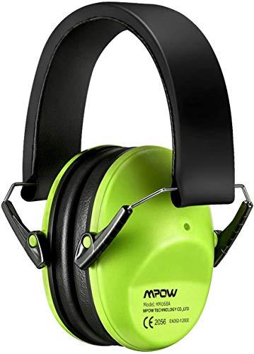 Mpow 068 Gehörschutz Kind, Ohrenschütze Kinder von 3 bis 12 Jahren, Farbe:Grün