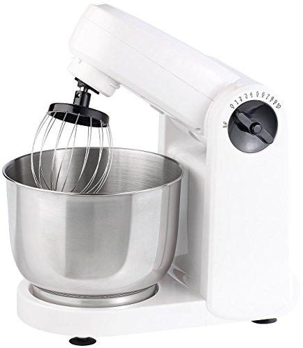 Rosenstein & Söhne Teigmaschine: Kompakte Küchenmaschine KM-4212, 600 Watt (Kombi Küchenmaschinen)