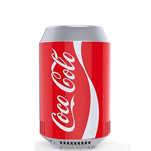 small-fridge Mini Can Cooler Coca-Cola Frigorifero Auto Frigorifero Auto Casa Dual Use Piccolo...