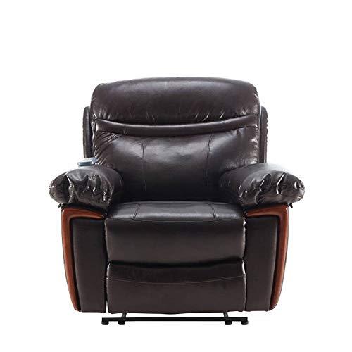 WHL.HH Massage Recliner, Power Lift Recliner for Elderly, with Adjustable Headrest/Heat, for Living Room Bedroom