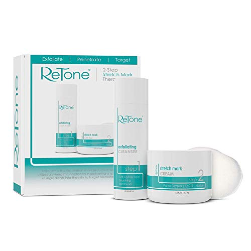 ReTone Stretch Mark Removal: Comprehensive Stretch Mark Treatment (Stretch Mark Cream + Body Cleanser + Body Scrubber) 7
