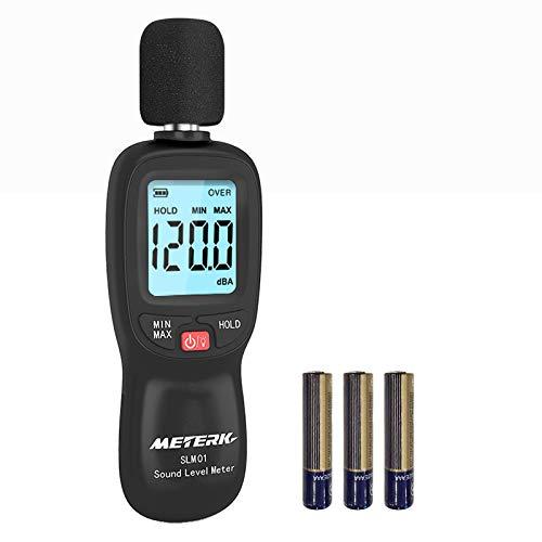 Decibel Meter, Meterk Digital Sound Level Meter,...