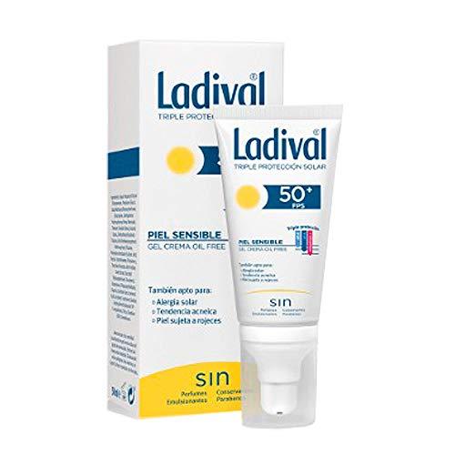 Ladival Protector Solar facial FPS 50 oil free para pieles s