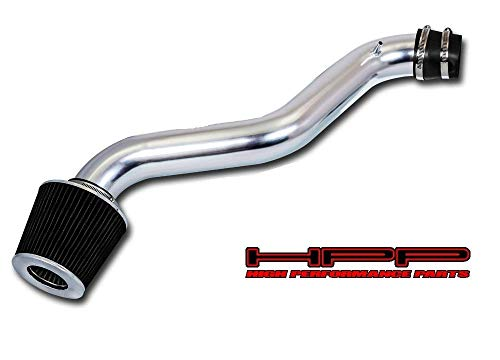 High Performance Parts Short Ram Air Intake Kit & Black Filter Combo Compatible for 97-01 Honda Prelude (All Model) / 98-02 Accord L4 Engine
