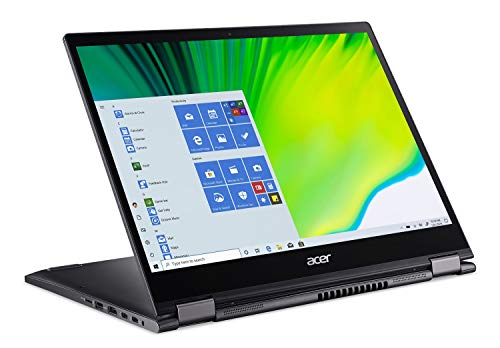 Acer Spin 5 Convertible Laptop, 13.5' 2K 2256 x 1504 IPS Touch, 10th Gen Intel Core i5-1035G4, 16GB LPDDR4X, 512GB NVMe SSD, WiFi 6, Backlit KB, FPR, Rechargeable Active Stylus, SP513-54N-56M2