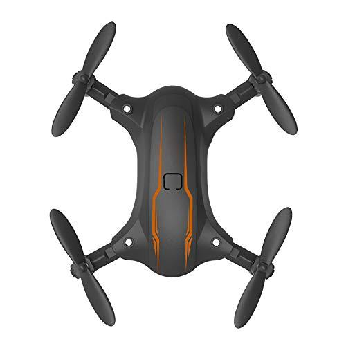 Porcyco Drone in Miniatura con videocamera 4K HD FPV Live Video, Elicottero quadricottero Pieghevole RC con Telecomando App per Bambini e Adulti, Mantenimento dellaltitudine, modalit Senza Testa