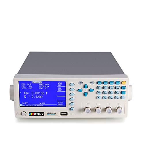 Digital LCR Meter Benchtop Tester for Capacitance...