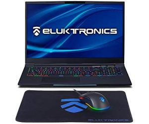 Eluktronics MECH-17 G1Rx Slim & Light NVIDIA RTX 2060 VR Ready Gaming Laptop with Mechanical RGB Keyboard Intel i7-9750H 17.3' 144Hz 512GB NVMe SSD + 16GB RAM