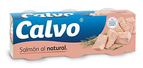 Calvo Salmón al Natural, 3 x 80g
