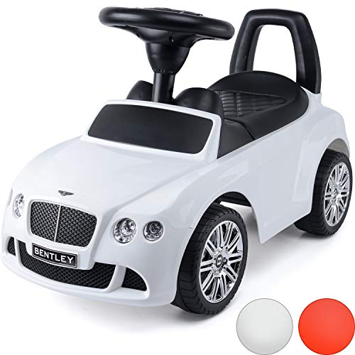 ToyStar Kids Ride On Bentley Continental Car With Sound Effects Licensed For 2+ Years Old