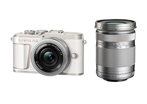 OLYMPUS ミラーレス一眼カメラ PEN E-PL10 EZダブルズームキット ホワイト