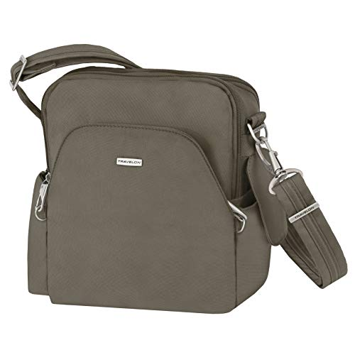 Travelon Anti-Theft Classic Travel Bag, Nutmeg