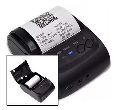 Mini Impressora Portatil Sem Fio Termica 58mm Bluetooth