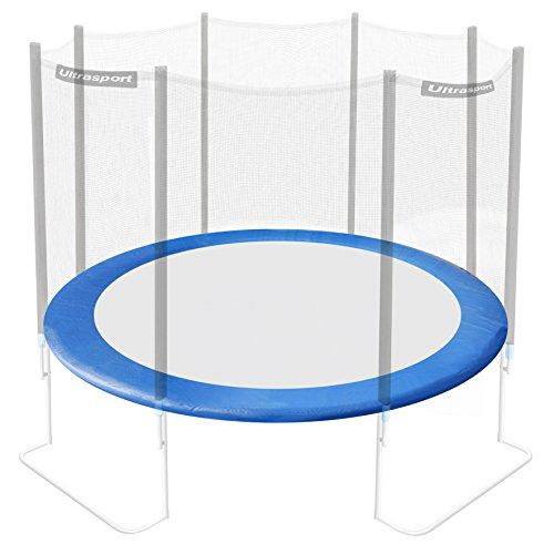 Ultrasport Rivestimento del bordo per trampolino da giardino, Blu, 366 cm