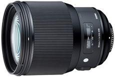 Sigma F1,4 DG Af HSM Art - Objetivo para cámara para réflex (85 mm) negro