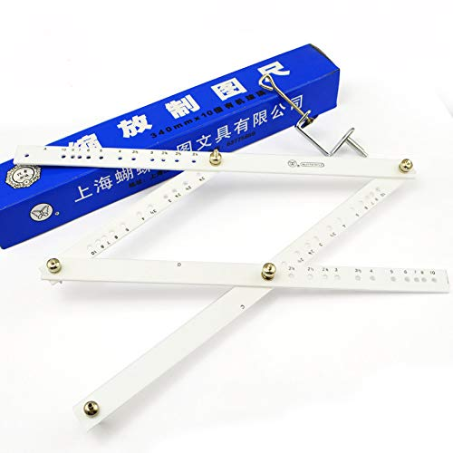 Sayhi High Quality Artists Plexiglass Pantograph Artist Drawing Tool Reducer Enlarger Recreate Copy 10 Times Scaling Ruler
