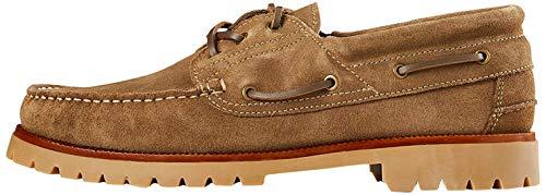Marca Amazon - find. Leather, Náuticos Hombre, Beige(beige(sand)), 43 (US 10)