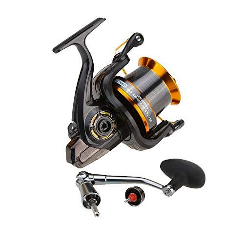 AFGH mulinelli Spinning 12 + 1BB Cuscinetto Mulinello da Pesca Ruota da Pesca in Mare 4.11 : 1 attrezzo per Mulinello da Spinning in Metallo