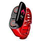 DESTINLEE 2-in-1 Bluetooth Headset Smartwatch - Smart Watch Built-in TWS Wireless Bluetooth Earphone Sports Smart Wristband