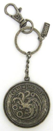 SD Toys - Game Of Thrones, Targaryen escudo, llavero mosquetón (SDTHBO02292) Llavero Game Of Thrones SDTHBO02292