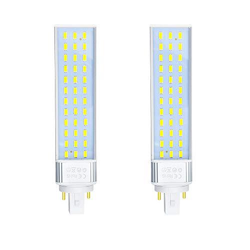 Lampada PLC LED Bonlux G24 a 2 pin, lampadina universale G24d a 2 pin G24q a 4 pin con LED per...