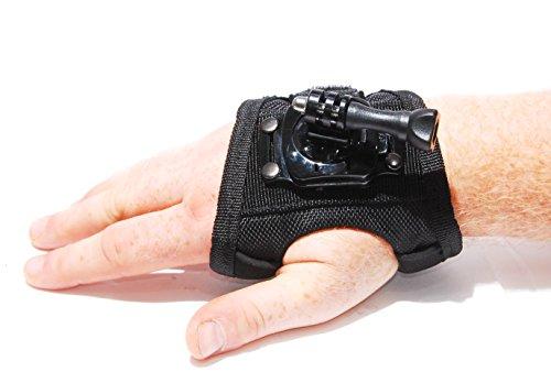 PROtastic - Supporto per guanti da polso a 360°, per GoPro/SJCAM e Action Cameras