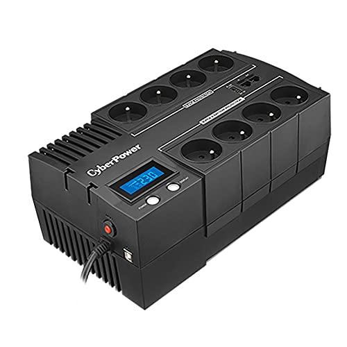 Cyberpower BR700ELCD-FR UPS Power Supply Schwarz
