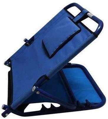 SMARTCARE Adjustable Hospital Back Rest for Use on Bed or Back Support (Blue)