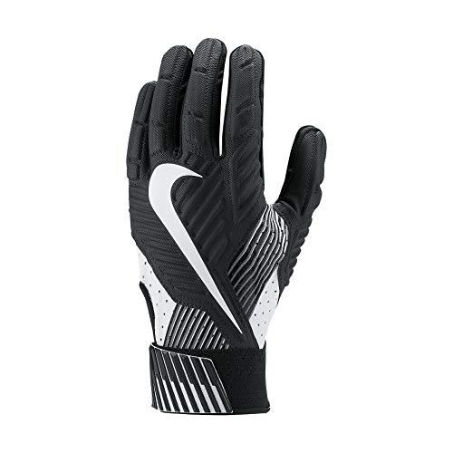 Nike Mens D-Tack 5 Padded Football Gloves Black/White GF0385 010 Size XX-Large