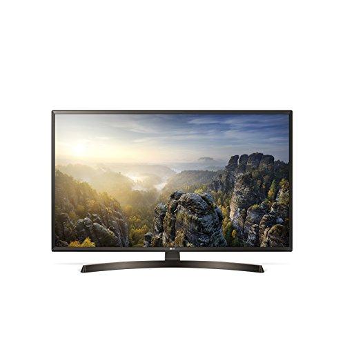 LG 43UK6400 Televisore 43' 4K Ultra Hd Smart Tv Wi-Fi Nero, 109.2 cm