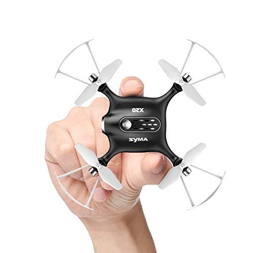 SYMA X20-Black 2.4 GHz Mini Micro RC Drone, Black