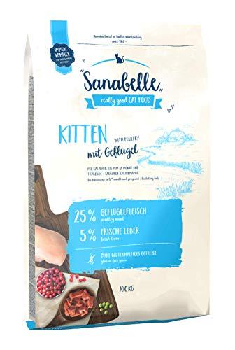 Sanabelle Kitten | Comida seca completa para gatos creciendos y gatas...