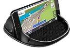 Cinati Porta Cellulare da Auto, Supporto Smartphone per Auto cruscotto di auto Silicone antiscivolo, Supporto Auto per iPhone 11 Pro Max XS Max X XR 8 /Samsung Galaxy/Huawei/One Plus/Sony /GPS/Xiaomi
