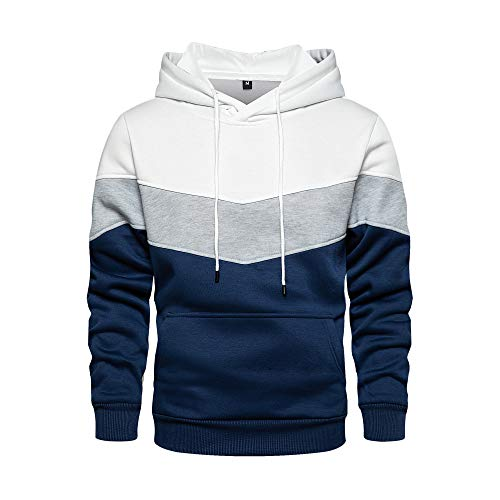 TOLOER Unisex Casual Hooded Fashion Hoodie Pullover with Kanga...