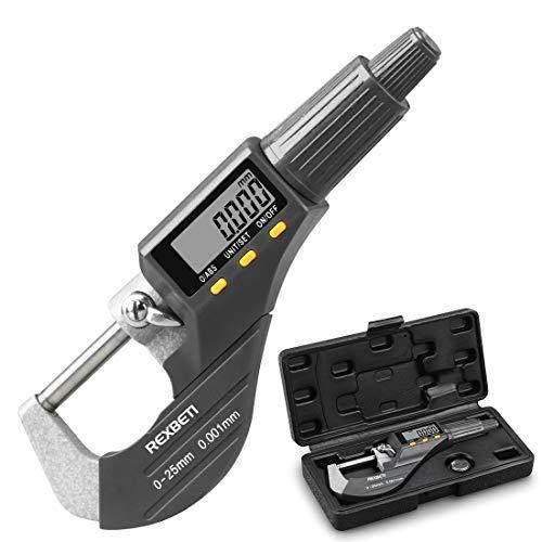 Digital Micrometer, Professional Inch/Metric...