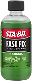 STA-BIL (22304 Fast Fix Small Engine Treatment – Cleans Carbs and Injectors –..