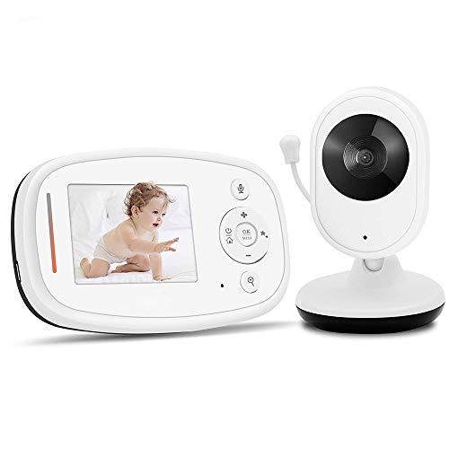 Product Image 1: Baby Monitor Camera Wireless Realtime Video Digitale Con 2.4″ LCD Display Telecamera Remota ,Babyphone,Citofono Visione,Visione Notturna, Monitoraggio Temperatura,Bambini Videosorveglianza Sicurezz