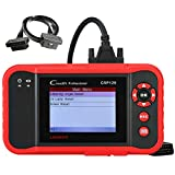 Launch CRP129 Professional Obd2 Scanner Code Reader Scan Tool for Engine Transmission ABS Airbag System EPB/SAS/Oil Reset with 16 Pin Extensive Cable