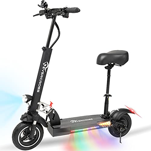 EverCross Electric Scooter, Electric Scooter for Adults with 800W Motor, Up to 28MPH...