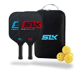 SLK by Selkirk NEO Polymer Graphite - Ultimate Starter Pickleball Paddles (SLK NEO Paddle Set)