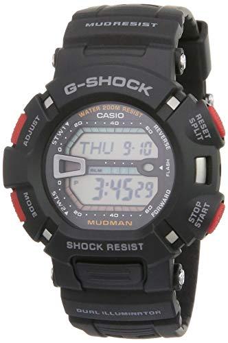 Casio G-Shock Digital White Dial Men's Watch