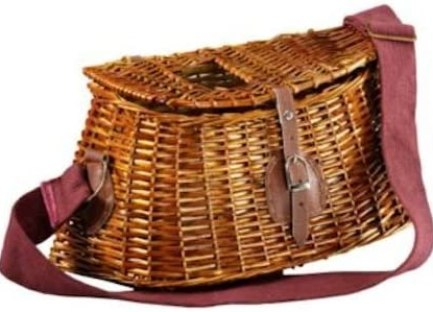 Willow Creel with Web Strap